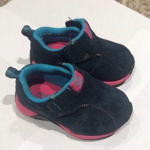 Merrell Jungle Moc Sport Slip On Navy Pink Shoes 5
